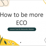 How to be more ECO